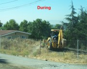 land clearing during